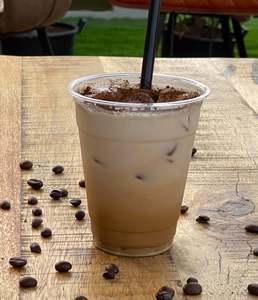 Drivu Iced spanish latte
