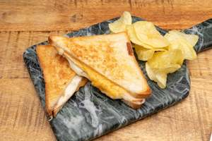 Drivu Melted Cheese and Turkey Toastie