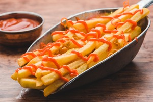 Drivu New Delhi fries masala