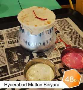 Drivu Hyderabadi Mutton Biryani