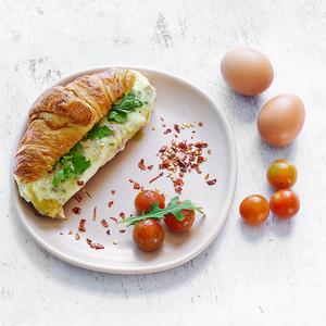 Drivu Croissant Omelette