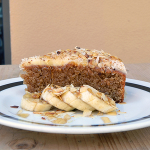 Drivu Gluten Free & Sugar Free Almond Banana Cake
