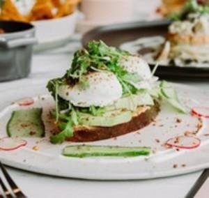 Drivu Avocado Egg Benedict