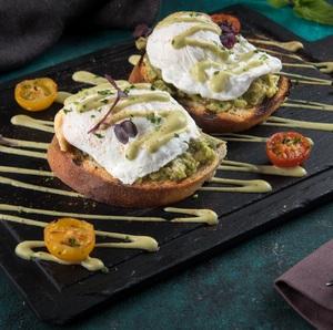 Drivu Avocado Poached Egg