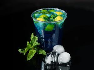 Drivu Blue Curaçao Mojito