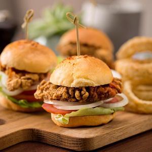 Drivu M&T Chicken Sliders (2 pieces)