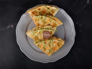 Drivu Pistachio Waffles