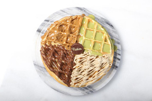 Drivu Mix Sauce Waffles