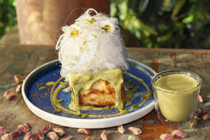 Drivu Pistachio French Toast