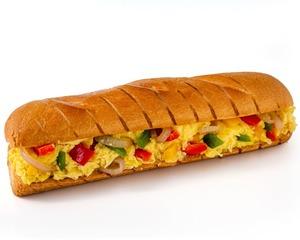 Drivu Vegetable Omelette Sandwich