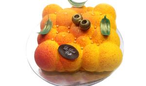 Drivu Bubble Mango Cake (Full Cake)