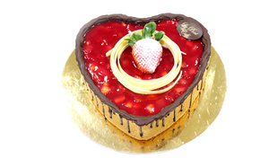 Drivu Creme Brûlée Heart (Full Cake)