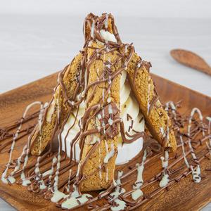 Drivu Cookies with Ice Cream