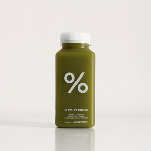 Drivu  % Apple / Spinach