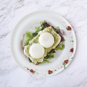 Drivu Poached Egg On Avocado Toast