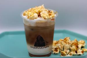 Drivu Popcorn latte