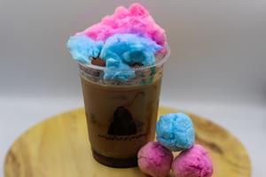 Drivu Iced Cotton Candy Latte