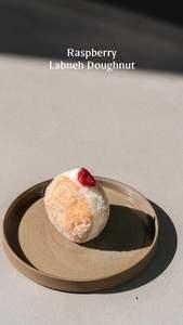Drivu Raspberry Labneh Doughnut