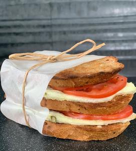 Drivu Asparagus & Egg White Sandwich