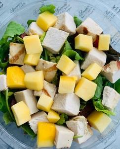 Drivu Chicken and mango salad