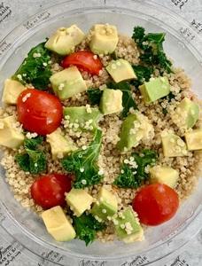 Drivu Quinoa Salad with Kale & Avocado