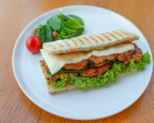 Drivu Chicken Cajun Sandwich