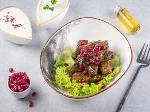 Drivu Vine Leaves with Chutney Sauce