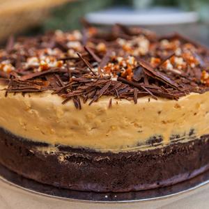 Drivu Choco Peanut Butter Cake Slice
