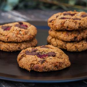 Drivu Raspberry & Choco Chunk Cookie (1 piece)