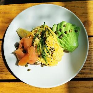 Drivu Egg Lox on Avocado Toast