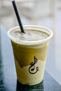 Drivu Cold Pistachio Milk Shake