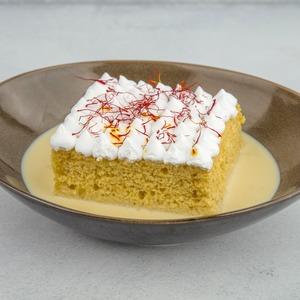 Drivu Saffron Milk Cake (Tres Leches)