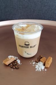 Drivu Salted Caramel Ice Latte