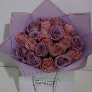 Drivu Purple & Peach Roses