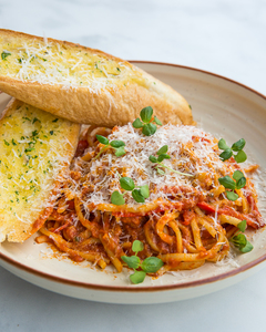 Drivu Prawn, Garlic & Chili Linguini