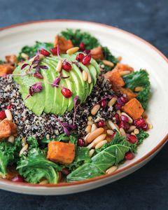 Drivu Black Quinoa, Kale & Roast Sweet Potato Salad