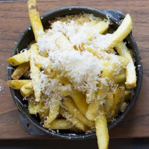 Drivu Truffle Parmesan Fries with Truffle Mayo