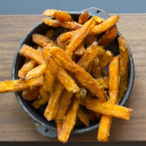 Drivu Sweet Potato Fries With Sriracha Mayo