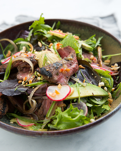 Drivu Grilled Steak Salad with Chargrilled Artichokes