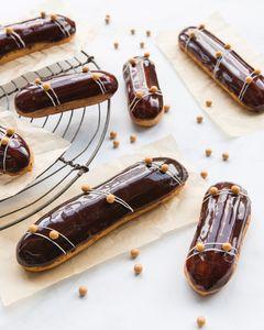 Drivu Valrhona Chocolate Eclair