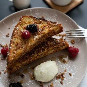 Drivu Granola French Toast