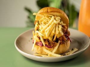 Drivu Crispy Chicken Burger
