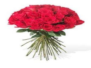 Drivu 25 Stem Red roses Bouquet