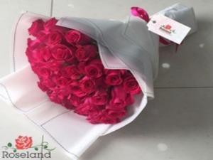 Drivu  Pink Rose Bouquet
