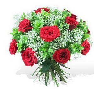 Drivu Red Bloom Bouquet