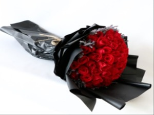 Drivu 60 Red Roses Bouquet