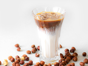 Drivu Hazelnut Delight Latte