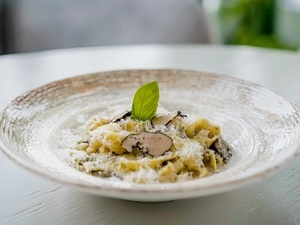 Drivu Wild Mushroom Fettuccine