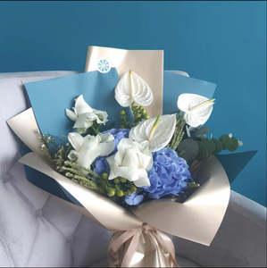 Drivu Blue Satin