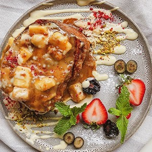 Drivu Salted Caramel French Toast (N)